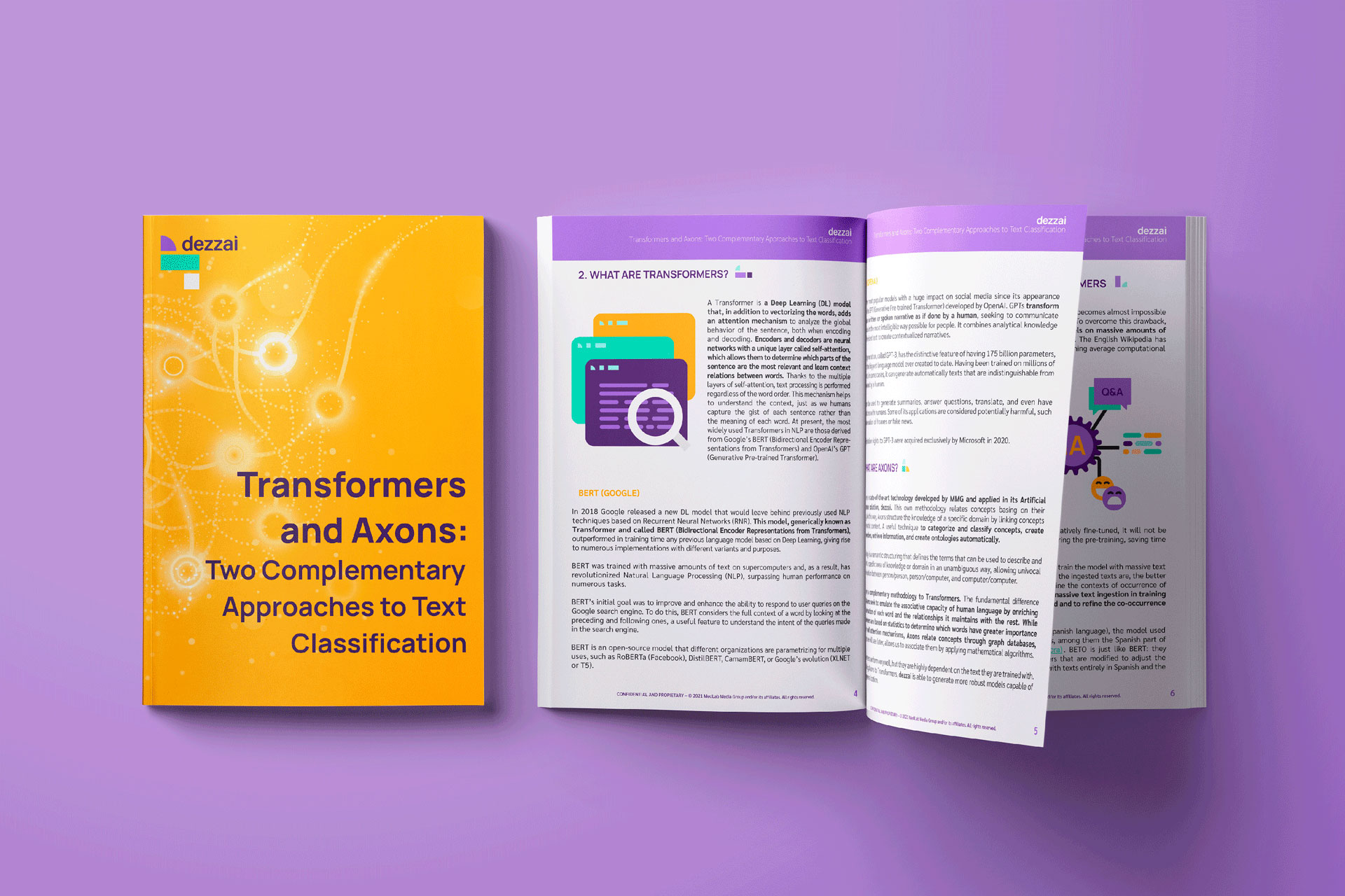 transformers and axons, artificial intelligence
